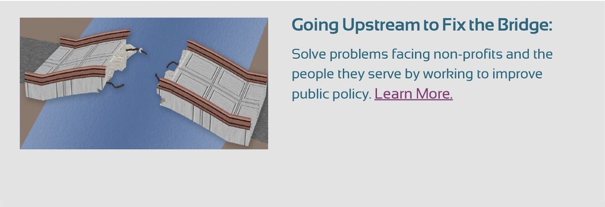 Going Upstream to Solve Non-Profit Problems