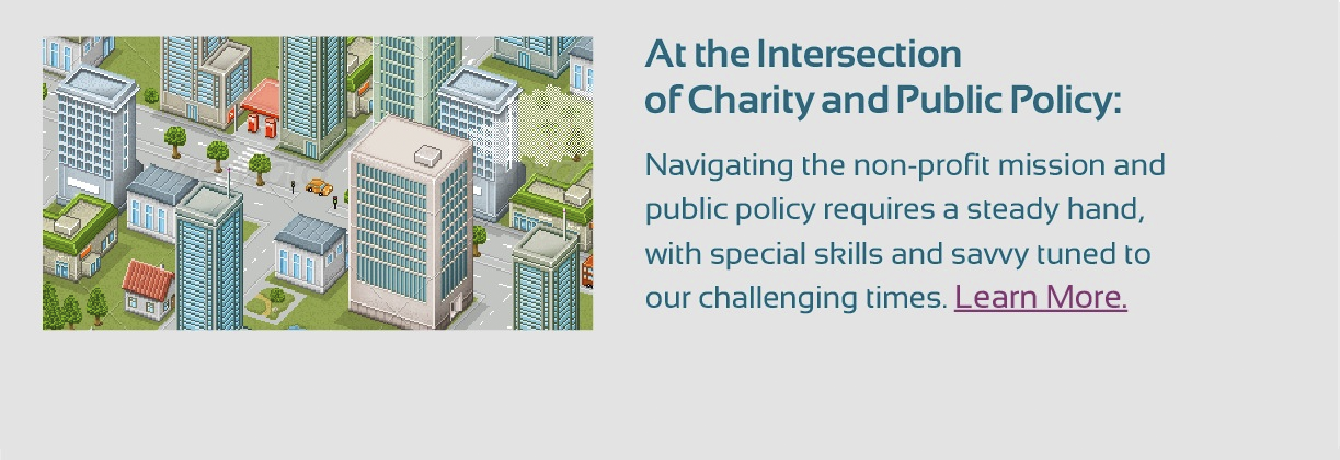 At the Intersection of Charity and Policy